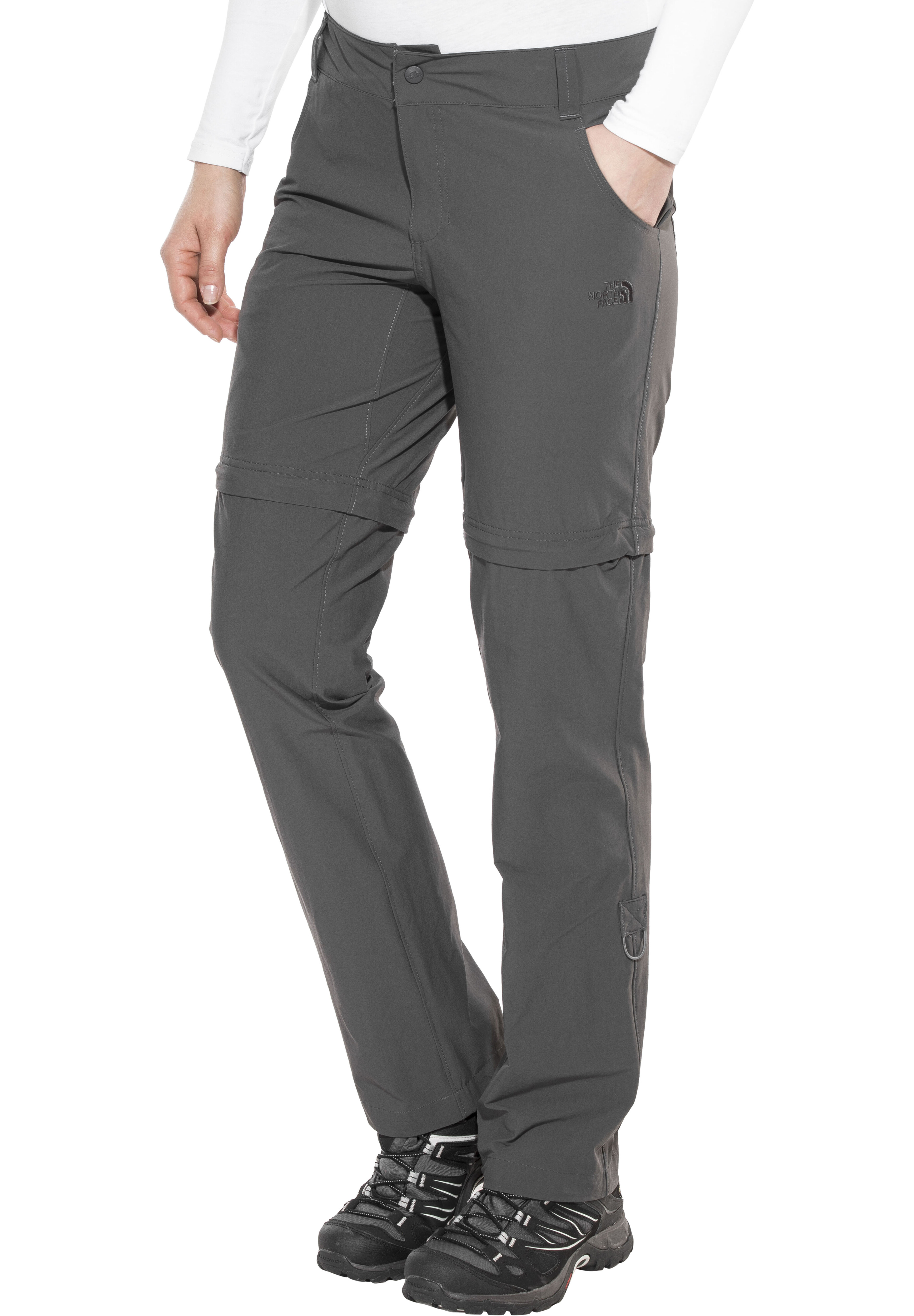 39cde6d75 The North Face Exploration Convertible Pants regular Women asphalt grey